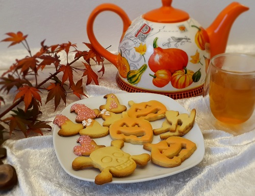 Halloween – Plätzchen backen im Herbst