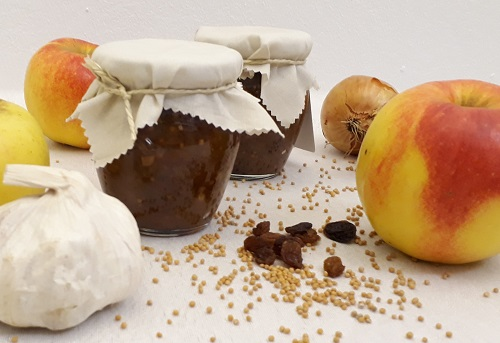 Mal was Neues mit Äpfeln – Chutney