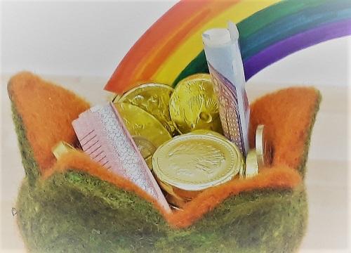 Geldgeschenk – Geld am Ende des Regenbogens