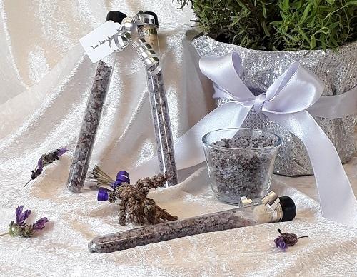 DIY Giveaway – Lavendel-Badesalz für deine Gäste