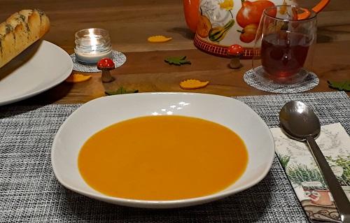 Kürbissuppe – einfach und lecker