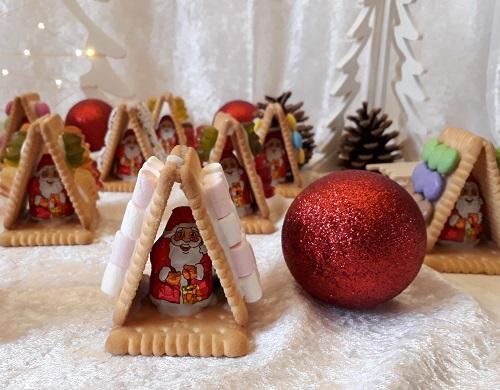 Essbare Tisch-Deko für Weihnachten
