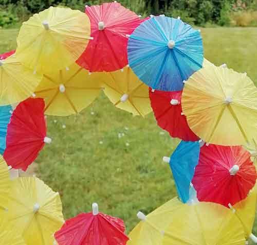 Cocktail-Schirmchen – Deko im Sommer