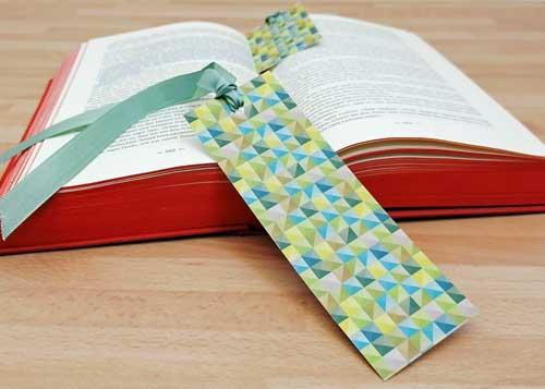 Kleine DIY Geschenke: Lesezeichen