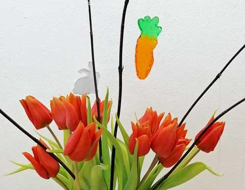 Schmelzgranulat: DIY Deko für Ostern