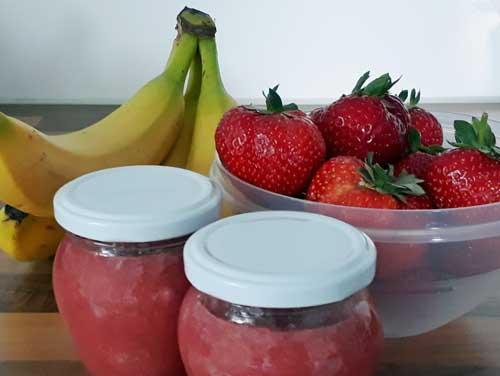 Mega: Erdbeer-Bananen-Marmelade