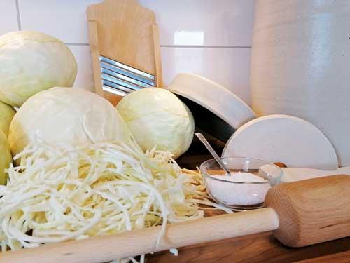 Klassiker: Sauerkraut